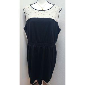 Lane Bryant color block dress Size 18